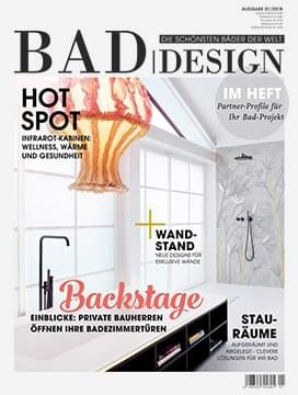 Bad|Design - Magazin-Cover - Ausgabe 01/2018